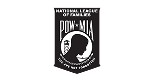 national league of pow-mia families logo, pow mia bracelets for a cause