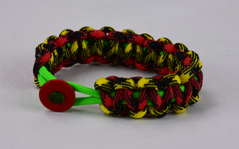Neon Green Black And Yellow Camouflage Red And Black